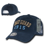 Rapid Dominance S80 Vintage Athletic Military Caps: Navy, Coast Guard
