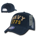 Rapid Dominance S80 Vintage Athletic Military Caps: Navy, U.S. Navy