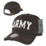 Rapid Dominance S84 Southern Cal Vintage Cotton Twill Military Cap: Brown, Army