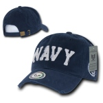 Rapid Dominance S84 Southern Cal Vintage Cotton Twill Military Cap: Navy, U.S. Navy