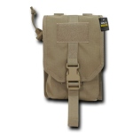 Rapid Dominance Utility Pouch W/ Cover: Khaki
