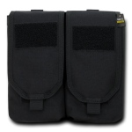 Rapid Dominance Double Ar Mag Pouch W/ Cover: Black