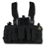Rapid Dominance Molle Chest Rigs: Black