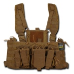 Rapid Dominance Molle Chest Rigs: Coyote