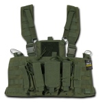 Rapid Dominance Molle Chest Rigs: Olive Drab