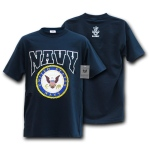 Rapid Dominance S33 American made Tee: Navy, Navy